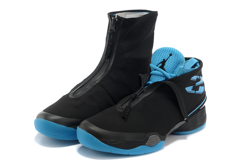 2013 New Arrival Air Jordan 28 Black Blue