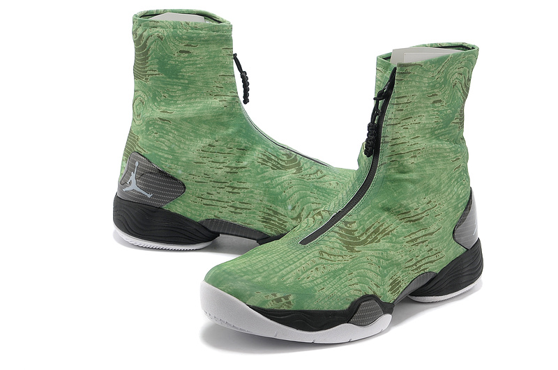 2013 New Arrival Air Jordan 28 Green Black