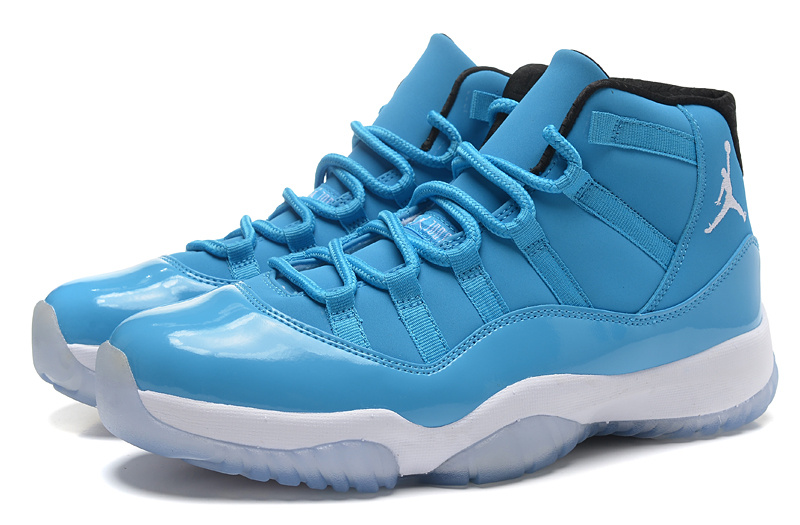 new style cd2fd fabaf 2014 Air Jordan 11 Retro Pantone University Blue White Black Shoes