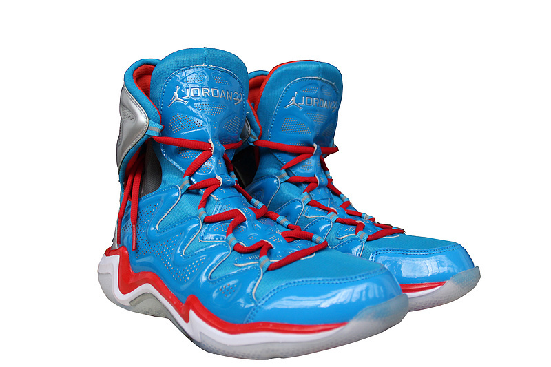 2014 Air Jordan 29 Blue Red White Shoes