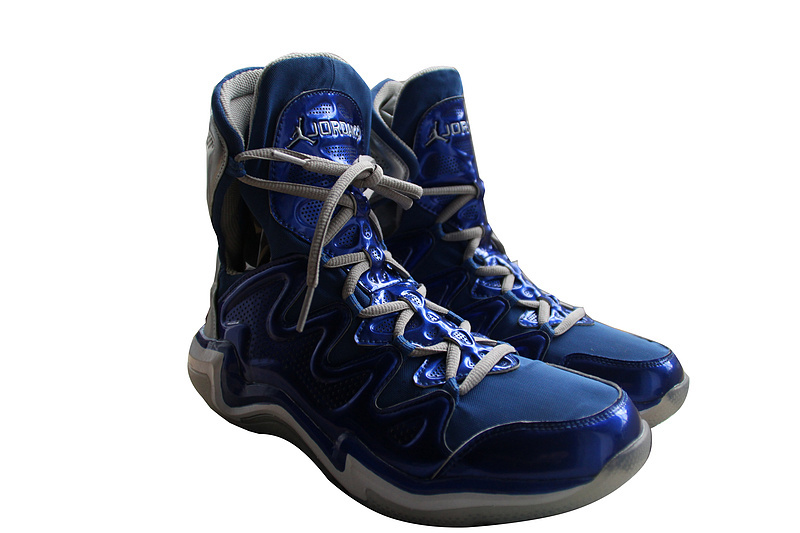 2014 Air Jordan 29 Blue White Shoes