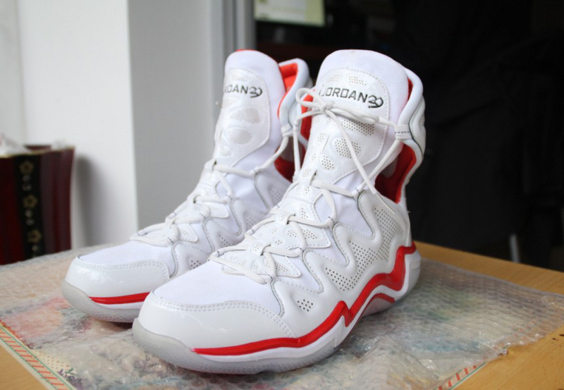 2014 Air Jordan 29 White Red Shoes