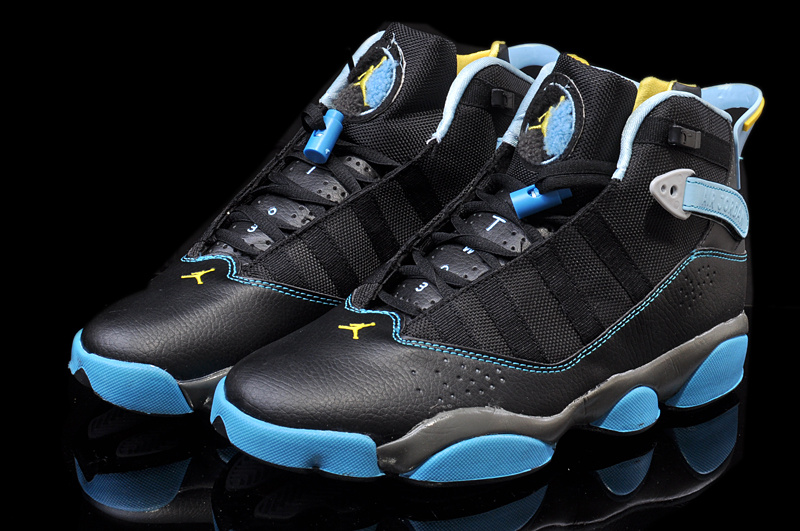 2014 Jordan 6 Rings Retro Black Blue