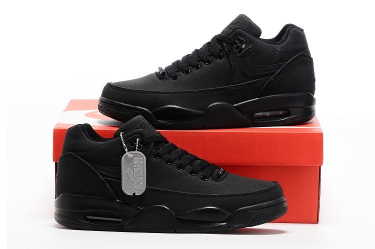 2015 Air Jordan 3 Retro All Black Shoes