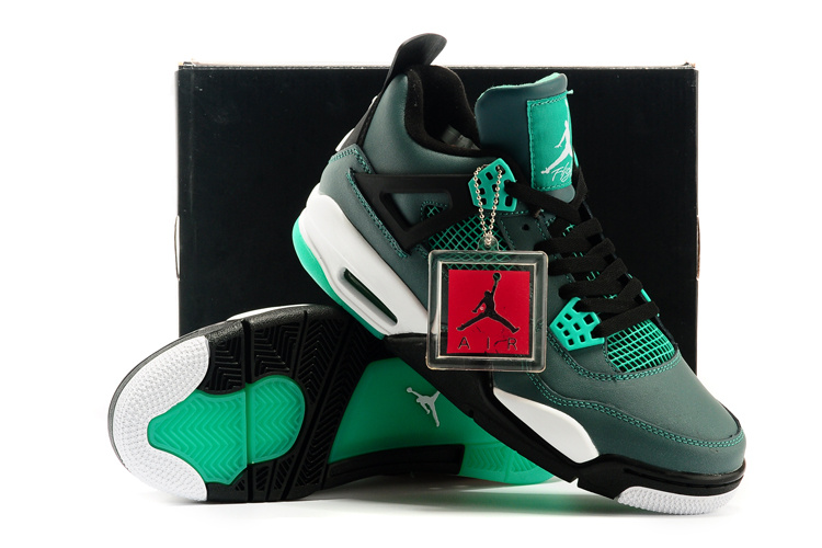 2015 Air Jordan 4 Retro 30th Anniversary Teal Shoes