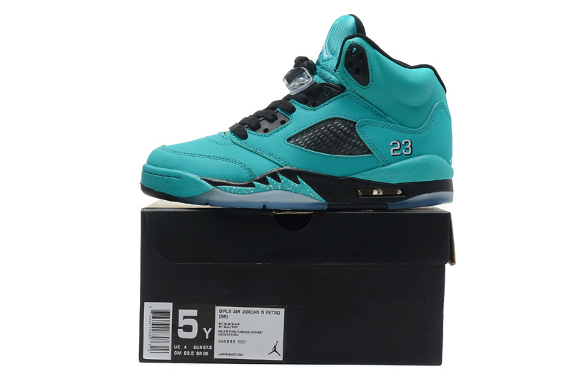 Cheap Real 2015 Air Jordan 5 Green Black