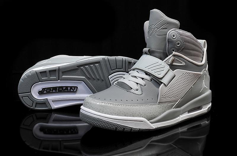 sports shoes 74004 e227e Real 2015 Jordan Flight 97 All Grey