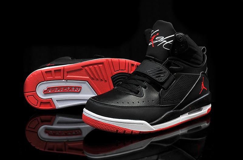 Real 2015 Jordan Flight 97 Black Red