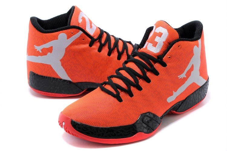 Air Jordan 29 Orange Black Grey Shoes