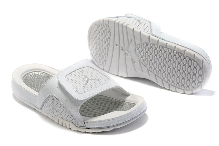 2015 Air Jordan Hydro 2 All White Sandal