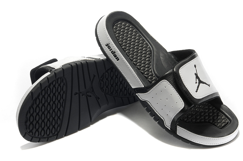 2015 Air Jordan Hydro 2 Grey Black Sandal