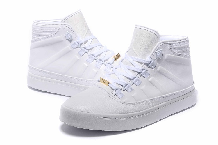 2015 Real Air Jordan Westbrook 0 1 Shoes All White