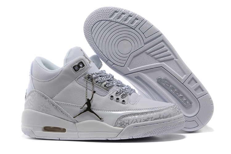 2015 Cheap Real Air Jordan 3 Retro Grey Cement Lover Shoes
