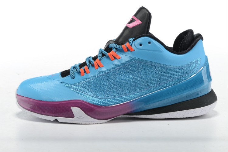New Arrival Nike Jordan CP3 VIII Blue Purple Black Shoes
