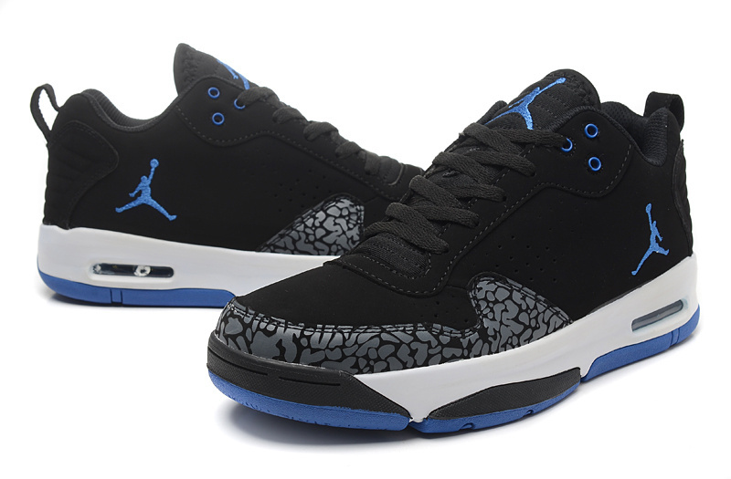New Arrival Air Jordan Cement Black Blue White Shoes