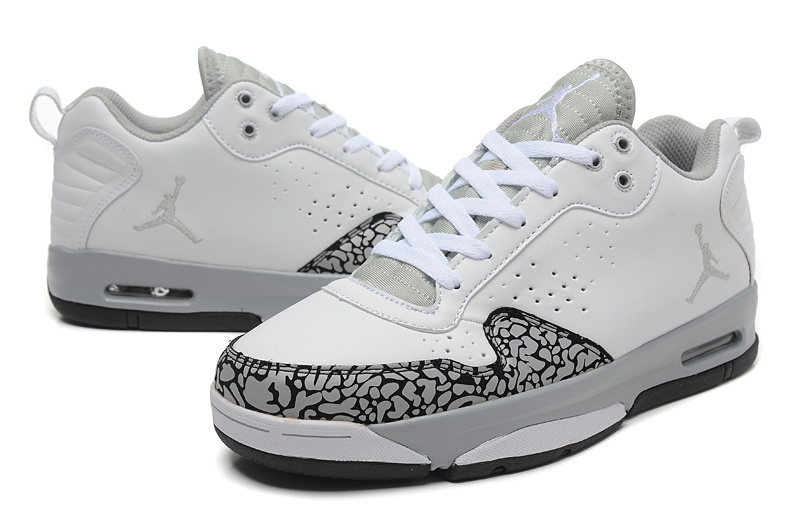 New Arrival Air Jordan Cement Grey White Grey Shoes