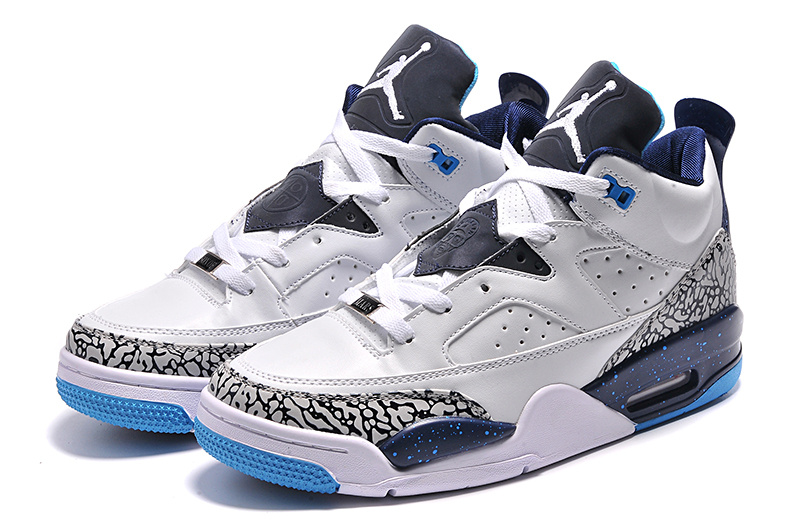 New Arrival White Blue Jordan Son of Mars Low Shoes