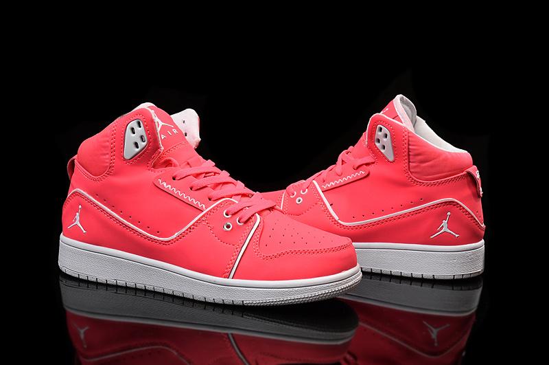 Cheap 2015 Real Air Jordan 1 Flight 2 Red White Women Shoes