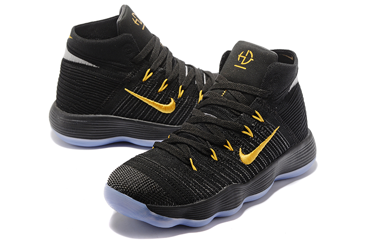 Latest Nike Hyperdunk Black Gloden Shoes