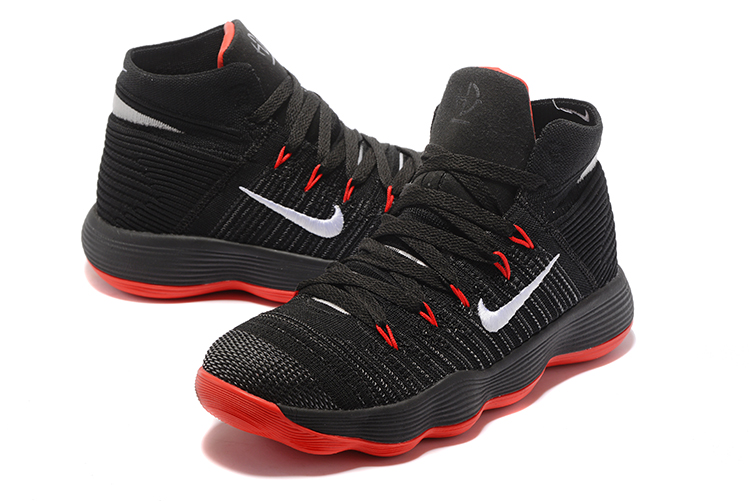 Newest Nike Hyperdunk Black Red Shoes