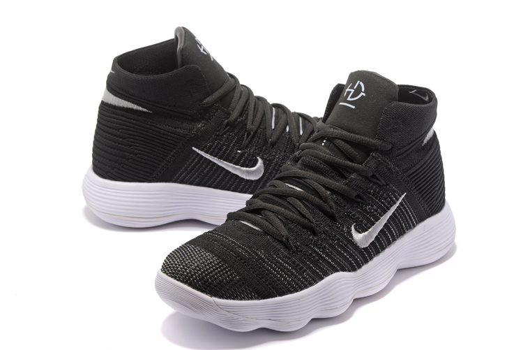 Newest Nike Hyperdunk Black White Shoes