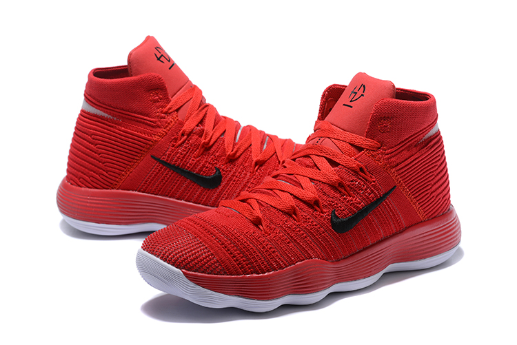 Newest Nike Hyperdunk Bold Red Sneakers