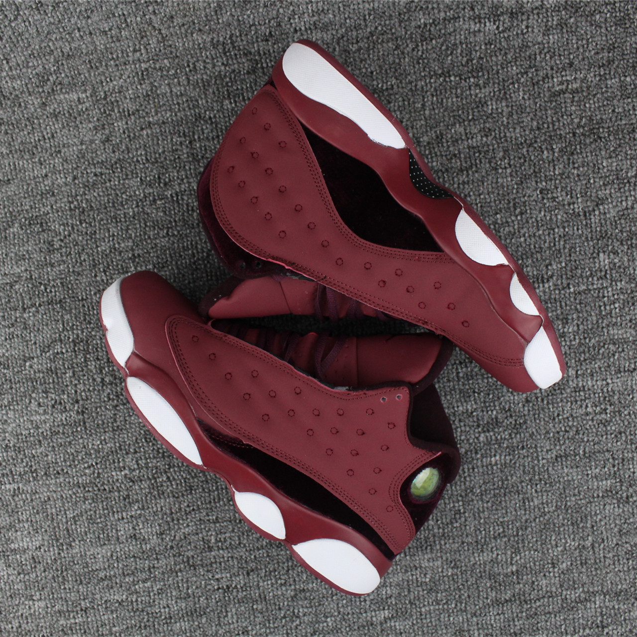 New Cheap 2018 Jordans 13 Wine Red Shoes