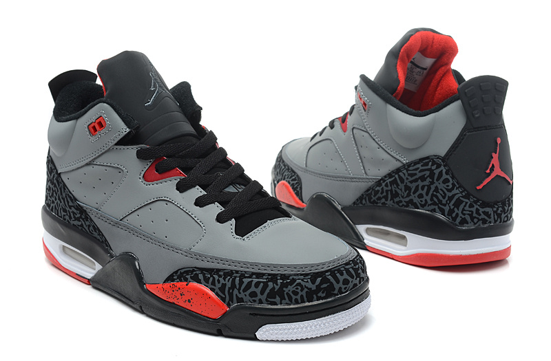 Jordan Son Of Mars Low Grey Black Red Shoes