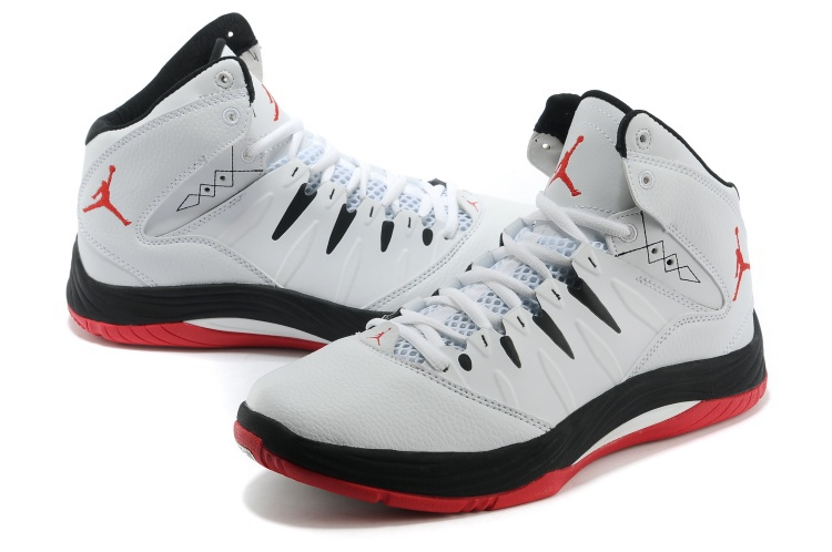Jordan Prime Fly White Black Red Shoes