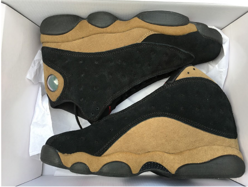 Cheap Jordan 13 Olive Black True Red-Light Olive