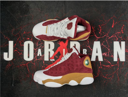 Cheap Jordan 13 Monta Ellis Premio BIN 23 Team Red Desert Clay White