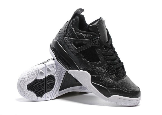 Cheap Jordan 4 Retro Premium Pony HCheap Black Black-Sail