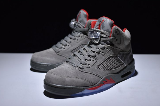Cheap Jordan 5 Camo Dark Stucco Fire Red