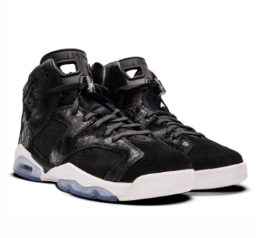 Cheap Jordan 6 Retro GG Heiress Black Suede White