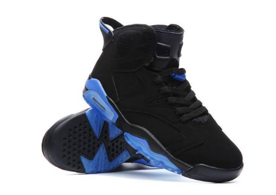 Cheap Jordan 6 XI UNC Black Blue
