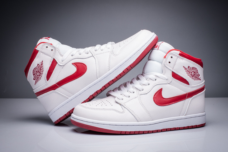 Air Jordan 1 Retro High OG Metallic Red White Varsity Red Shoes
