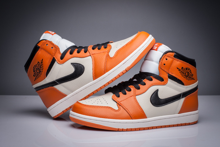 Air Jordan 1 Retro High OG Shattered Backboard Away Sail Starfish Black Shoes