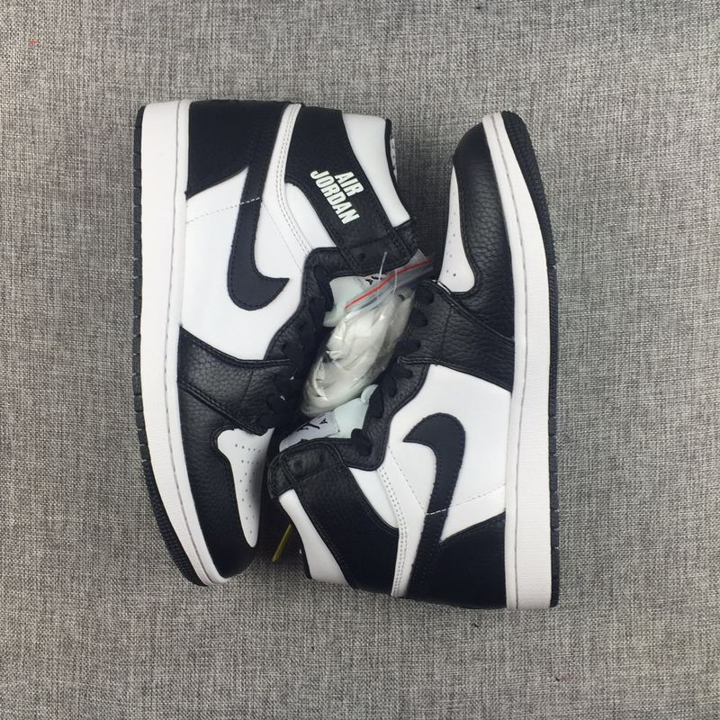 Air Jordan 1 Retro High Rare Air Black White Shoes