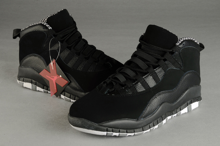 New Arrival Air Jordan X Retro All Black