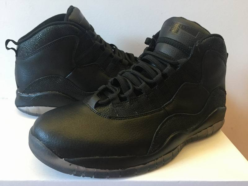 Air Jordan 10 Retro OVO Black Shoes