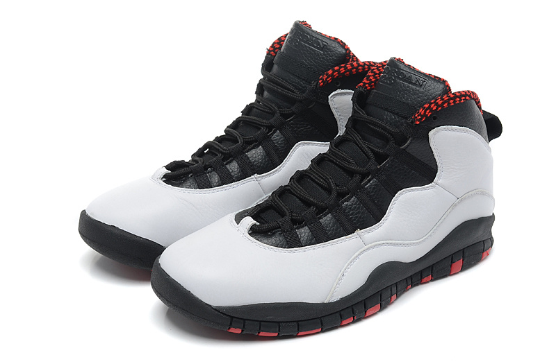 online store 523dd a5340 Air Jordan 10 X Retro Chicago White Varsity Red Black Shoes