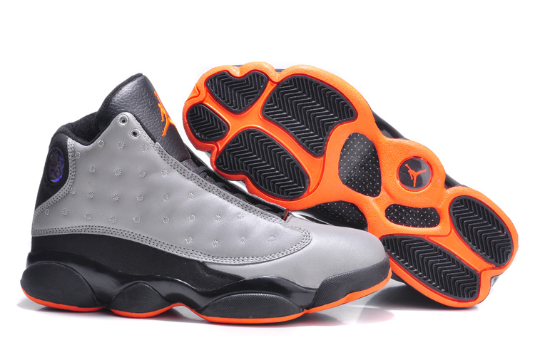 Air Jordan 13 Retro 3M Reflective Silver Infrared 23 Black Shoes