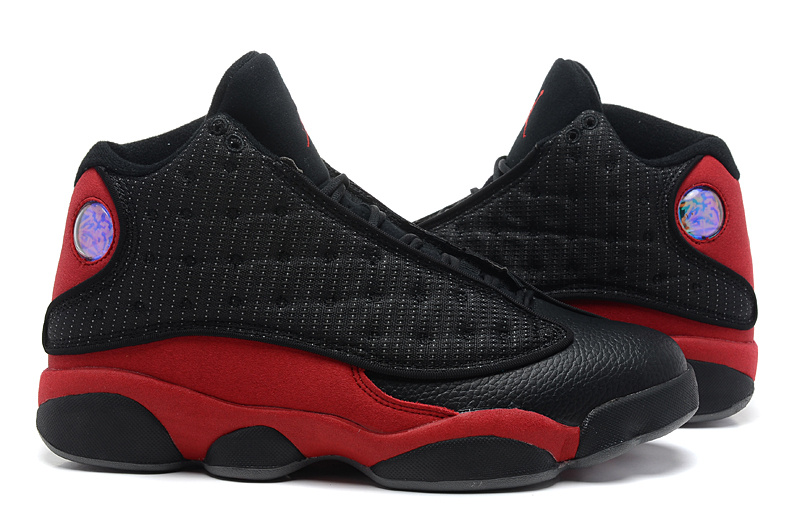 Air Jordan 13 Retro Bred Black Varsity Red White Shoes