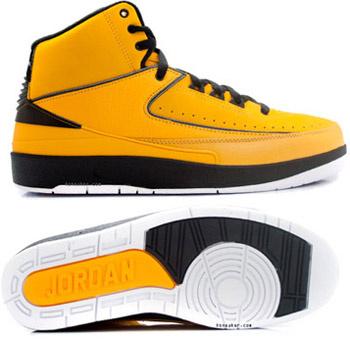 Cheap Air Jordan Retro II Yellow Chrome
