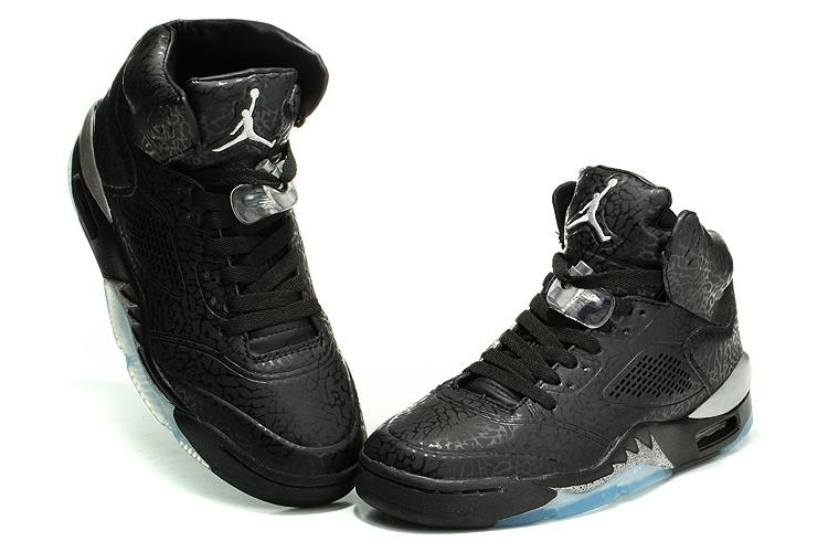 Air Jordan 3LAB5 Burst Crack Black White Shoes