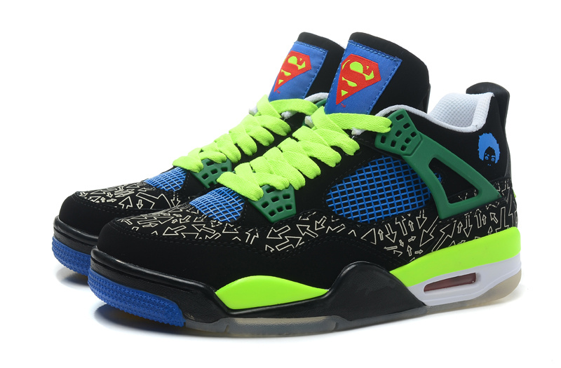 Air Jordan 4 Retro Doernbecher Superman Shoes