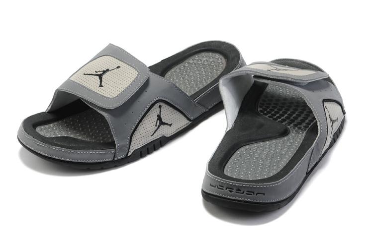 a01c83c5d8e1 Air Jordan 5 Slipper Grey White -  55.00