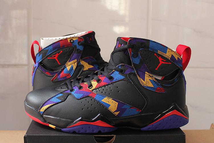 d9c262e56719 Air Jordan 7 Nothing But Net Black Sweater Shoes  17NAJ154  -  77.00 ...