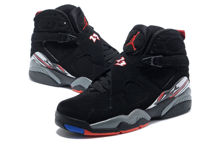 32253e79af9b6 ... canada air jordan 8 retro playoffs black true red white shoes 3d713  ee74a