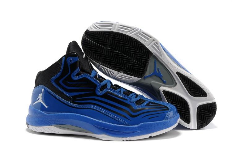 2013 Jordan Aero Mania Black Blue Black White Shoes